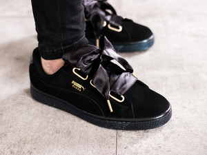 #NEED Puma Suede Heart Satin