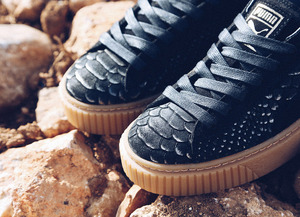 Launch Puma Basket Platform Exotic Skin
