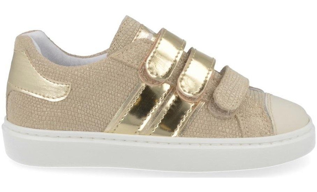 Bana & Co Klittenband Sneakers - 21132006 Perzik Peach Meisjes - Bana & Co