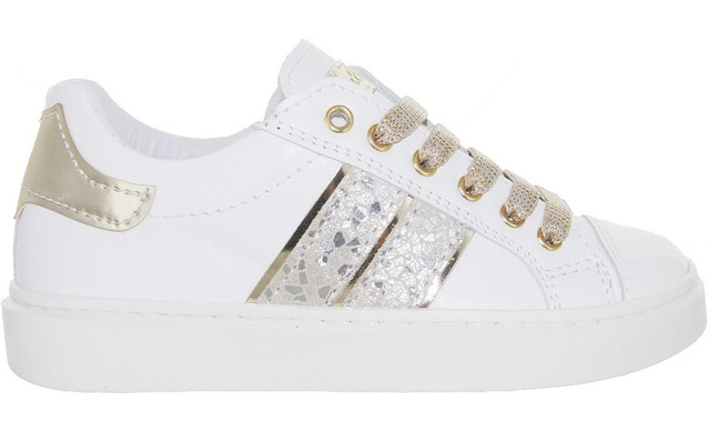 Bana & Co Sneakers - 21132005 Wit Meisjes - Bana & Co