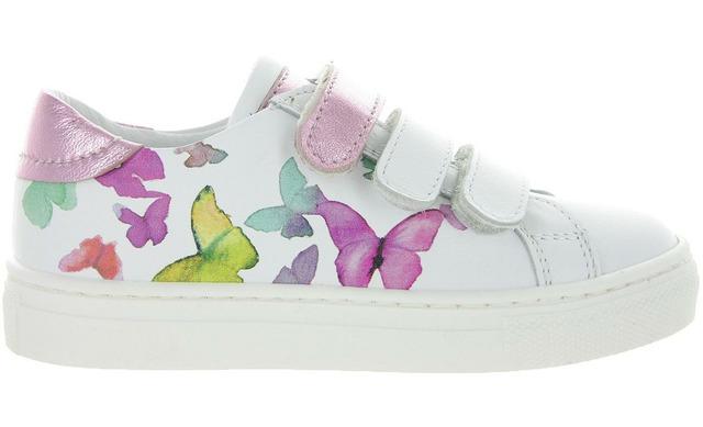 Bana Klittenband Sneaker - 20132072 Vlinder Meisjes - Bana & Co