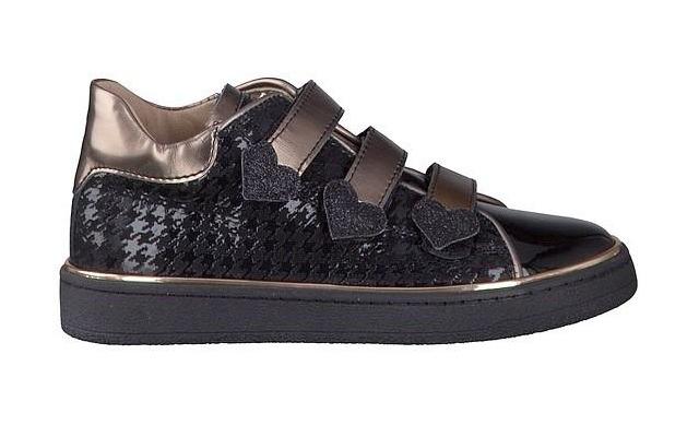 Banaline Klittenband - Sneaker 21222137 Meisjes Zwart - Banaline