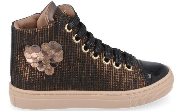 Banaline Hoge Sneaker - 21222030 Bruin Meisjes - Banaline