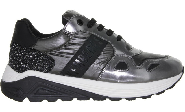 Bikkembers Sneakers - 20623 Zilver Meisjes - Bikkembergs
