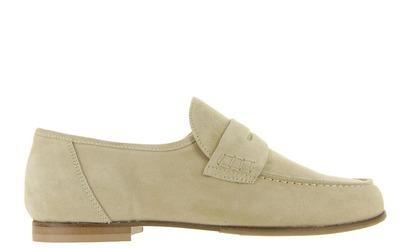 Beige Loafers - 1990 Uni - Cherie