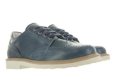 Blauwe Broque Schoenen - 5848 Uni - Cherie