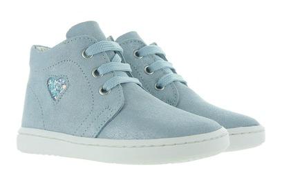 Blauwe Eerste Loopschoenen - E0417 Meisjes - Cherie