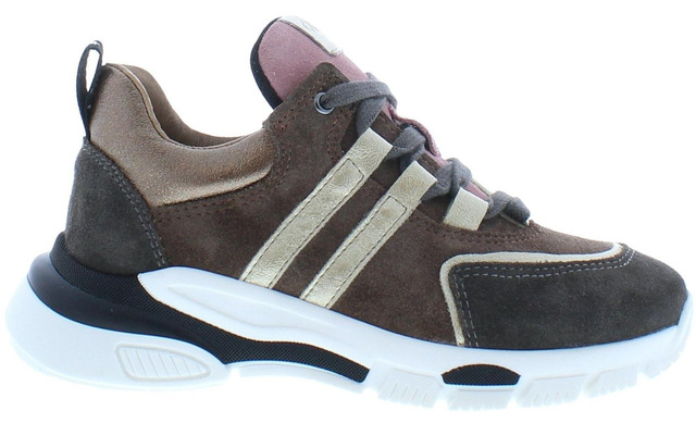 Clic Sneakers - Cl-20339 Taupe Meisjes - Clic!
