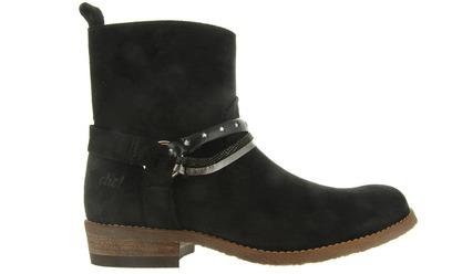 Clic Enkel Boots - 9246f Zwart - Clic!