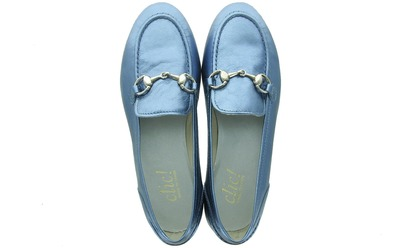 Clic Loafers - 9401 Blauw Dames - Clic!