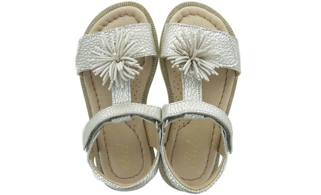 Clic Sandalen - Cl 9722 Hunter Killian Zilver Meisjes - Clic!