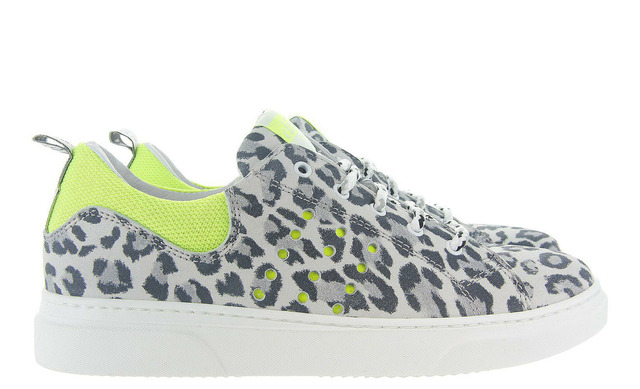 Luipaard Clic Sneakers - 9754f Panther Meisjes - Clic!