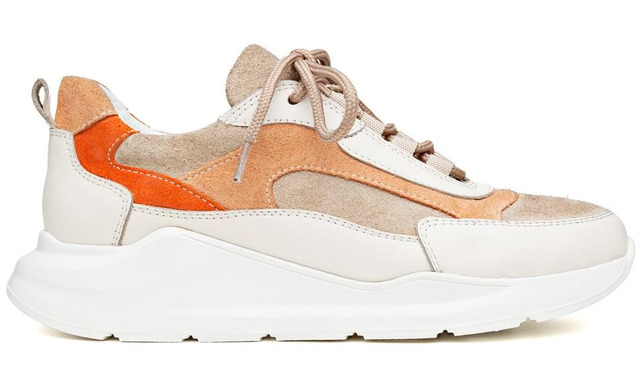 H32 Coco Peaches And Cream - Sneaker Beige Dames - H32