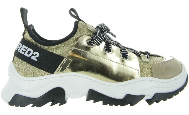 Dsquared2 Sneaker - 63541 Goud Dames - Dsquared2