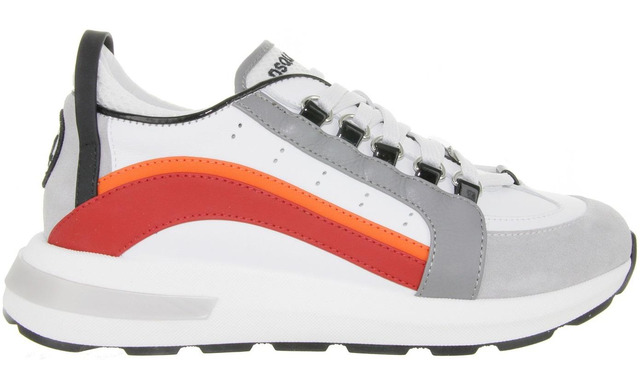 Dsquared2 Sok Sneaker - 67047 Red Orange - Dsquared2