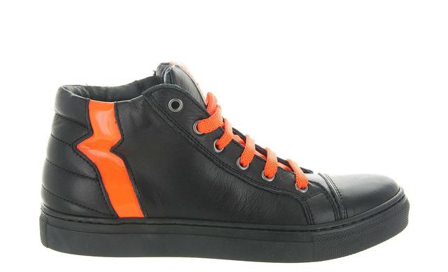 Freesby Veterschoenen - 586 Zwart Oranje Jongens - Freesby