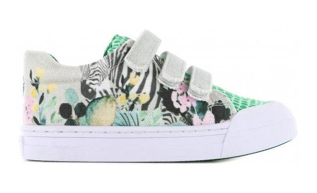 Go Banana's Sneaker - Klittenband Zebra - Go Banana's