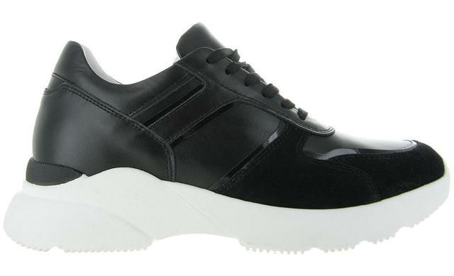 Hip Donna Sneakers - D1595 Zwart Dames - Hip Donna