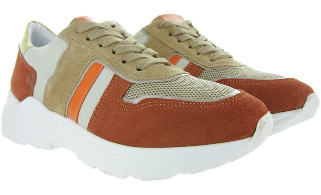 Hip Donna Sneakers - D1916 Oranje Dames - Hip Style Women