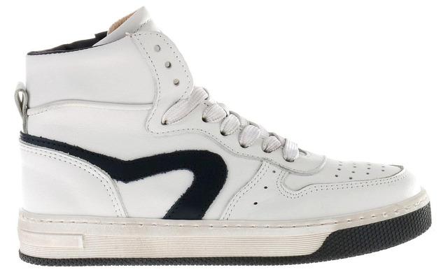 Hip Heritage Sneaker - H1301 Wit - Blauw Uni - Hip