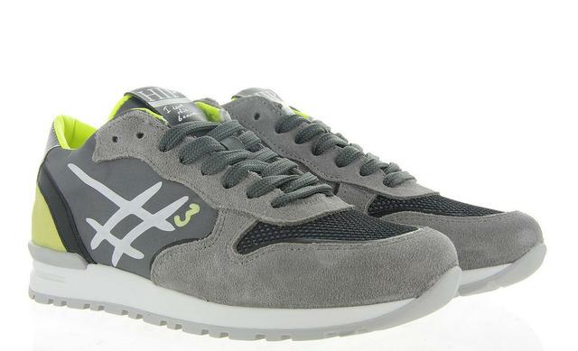 Hip Sneakers - H1797 Grijs Jongens - Hip