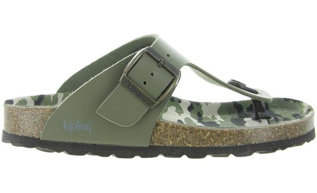 Kipling Sandalen - Ganzo 3 Khaki Groen - Kipling