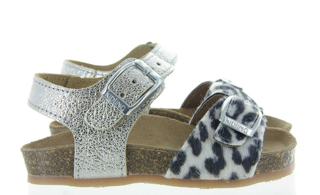 Zilveren Sandalen - 11965308 Lorella 2 Meisjes - Kipling