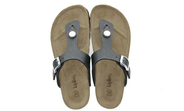 Zwarte Slippers - 11965371 Maria 3gy Meisjes - Kipling