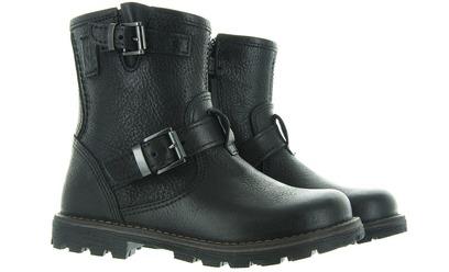 Zwarte Biker Boots - 6411 Jongens - Momino