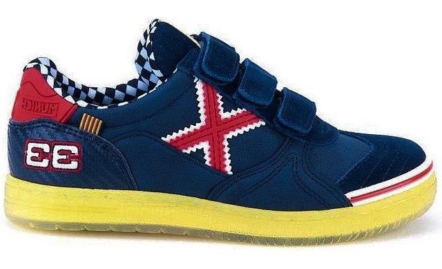 Max #33 Formule1 Sneakers - 1514233 Navy - Red Jongens - Munich