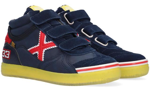 Max #33 Formule1 Sneakers - 1575233 Navy - Red Jongens - Munich