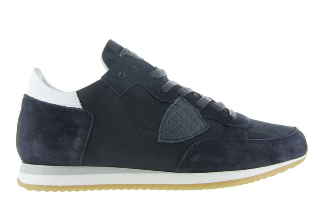 Philippe Model Dames Sneakers - Dames Sneaker Blauw - Philippe Model
