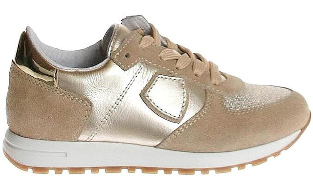 Pinocchio Sneakers - Philippe Model Goud Meisjes - Pinocchio By Hip