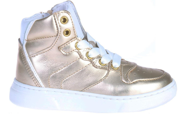Pinocchio Sneakers - P1737 Platina Meisjes - Pinocchio By Hip