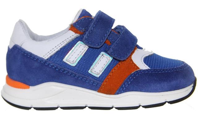 Pinocchio Klittenband Sneakers - P1747 Cobalt Jongens - Pinocchio By Hip