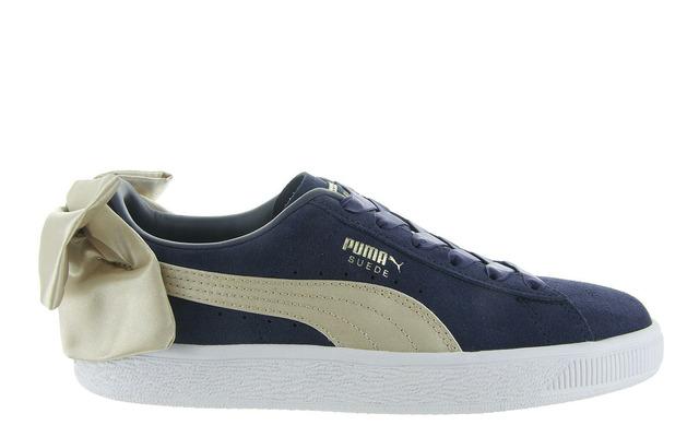 Puma Sneakers - Suede Bow Blauw Dames - Puma