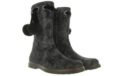 Zwarte Laarzen - 9772 Meisjes - Romagnoli
