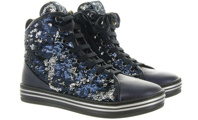 Romagnoli Sneakers - 2862 Blauw Meisjes - Romagnoli