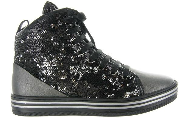Romagnoli Sneakers - 2862 Zwart Meisjes - Romagnoli