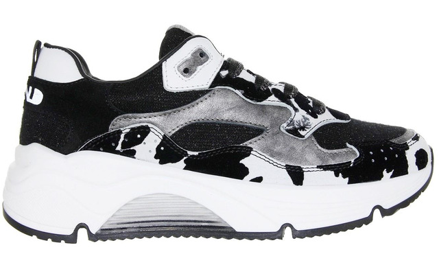 Rondinella Sneaker - 11712ae Zwart Meisjes - Rondinella