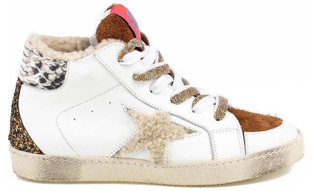 Rondinella X Golden Goose - 11809-3 Sneaker Wit Meisjes - Rondinella