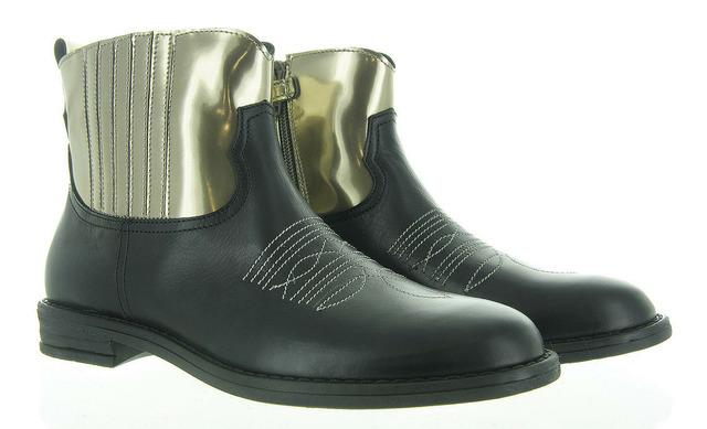 Zwarte Western Boots - 11664 Meisjes - Rondinella