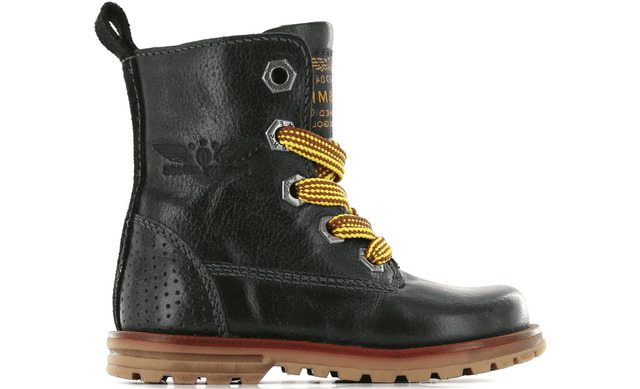 Shoesme Veterboot - De9w093-b Zwart Unisex - Shoesme