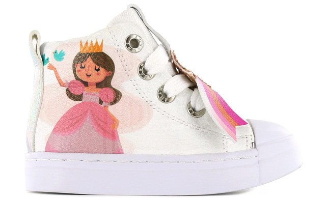 Shoesme Sneakers - Sh21s006-b Wit Princes Meisjes - Shoesme