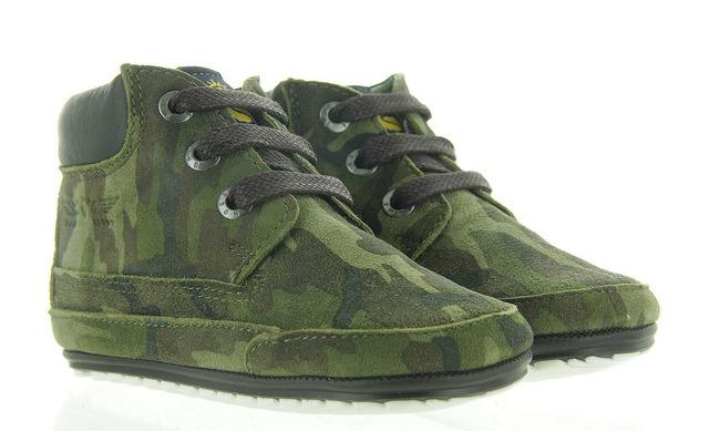 Camouflage Babyschoenen - Bp9w034-a Jongens - Shoesme