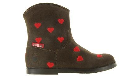 Shoesme Laarzen - Bl7w069-b Bruin Meisjes - Shoesme