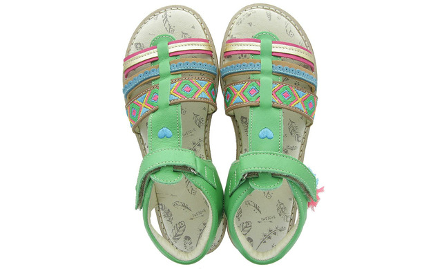 Groene Sandalen - Ca9s058-c Meisjes - Shoesme
