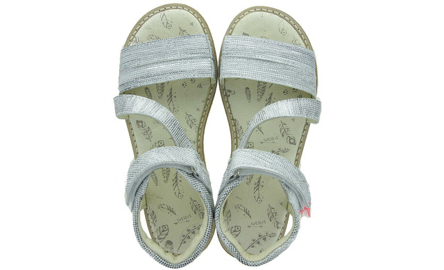 Zilveren Sandalen - Ca9s063-c Meisjes - Shoesme