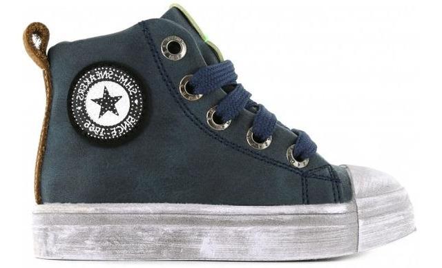 Shoesme Sneaker - Sh21w025-a Blauw - Shoesme