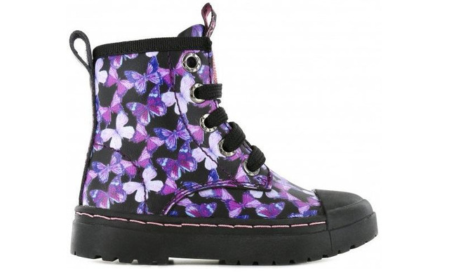 Shoesme Veterboot - Butterfly Meisjes - Shoesme